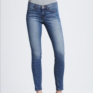 J Brand Bliss jeans size 24 mid rise skinny